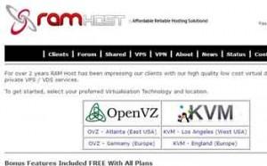 RAM Host VPS介绍