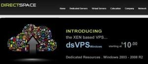 DirectSpace Windows VPS