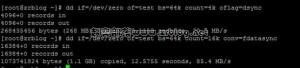 StyleX Networks VPS评测之硬盘读写