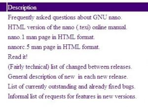 linux nano