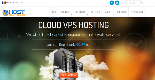 《HostSolutions大硬盘VPS促销 1TB硬盘仅5.4美元》