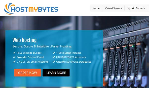 《HostMyBytes便宜KVM VPS 512MB内存年付9刀》